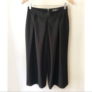Sam Edelman Crepe Pleated Wide Leg Pants Size 4